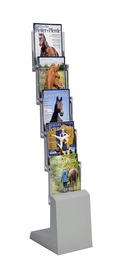 Foldable Brochure Rack New